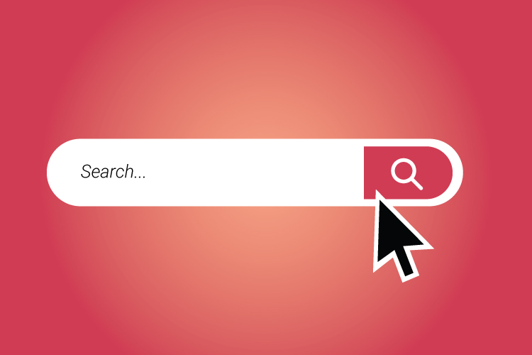 Search bar free vector