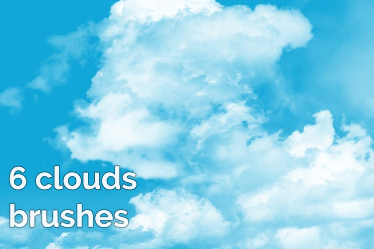 6 Clouds Brushes