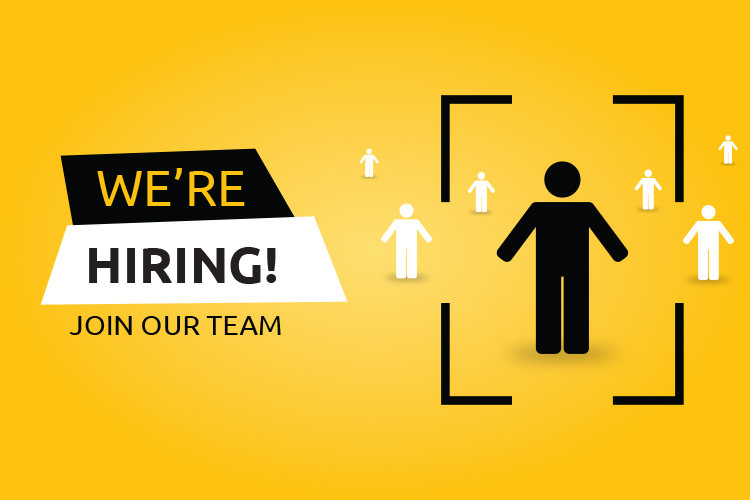 We are hiring (vector)