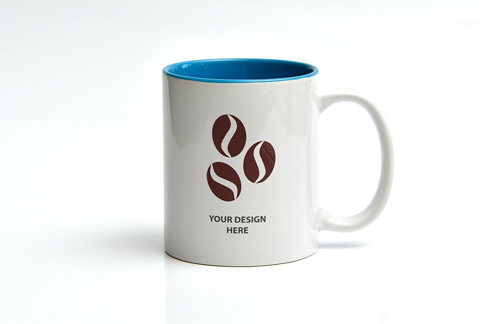 Simple coffee mug mockup